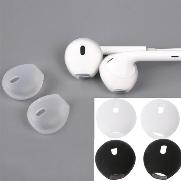 innovative design 0925d a0957 Silicone Earbuds Earphone Case Cover for Apple iphone X 8 7 6 Plus 5 SE  Earpods Airpods Headphone Eartip Ear Cap Tips Earcap-in Earphone  Accessories ...