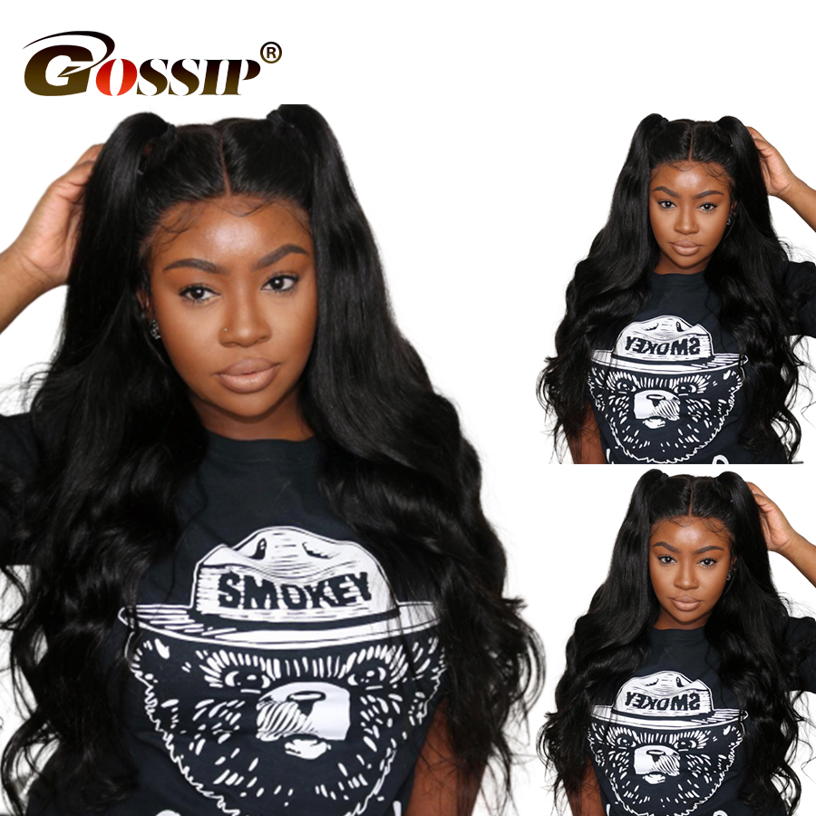 250 Density 13x6 Lace Front Wig Body Wave Brazilian Wig Lace Front Human Hair Wigs For