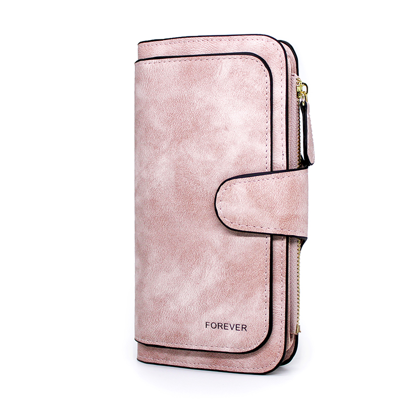 Brand Leather Women Wallets High Quality Designer Zipper Long Wallet Women Card Holder Ladies Purse Money Bag Carteira Feminina 5