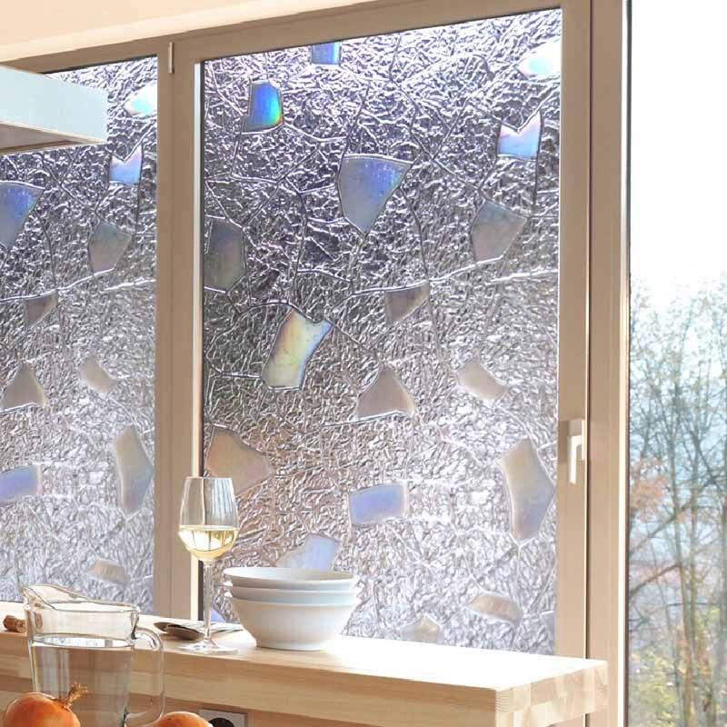 100x45cm 3d Pvc Frosted Shiny Waterproof Window Stickers