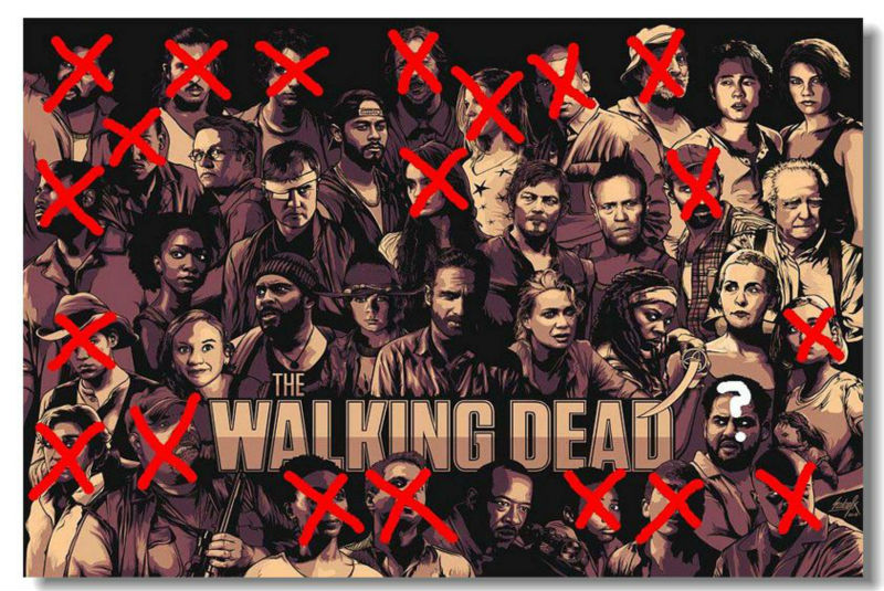 The Walking Dead TWD TV Season 4 3 Silk Wall Poster 48x32,36x24 ...