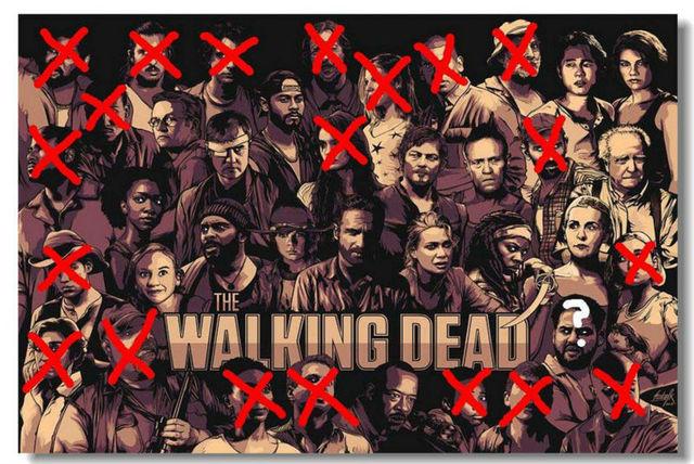 The Walking Dead TWD TV Season 4 3 Silk Wall Poster 48x32,36x24 ...