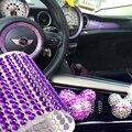 Auto DIY Decorative Color Diamond Car-styling Car Sticker Girl Accessories Automobile Motorcycle Interior Decoration Supplies
