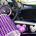 Auto DIY Decorativo Color Diamond Car-styling Car Sticker Chica Accesorios de Decoración Suministros de Automóvil de La Motocicleta