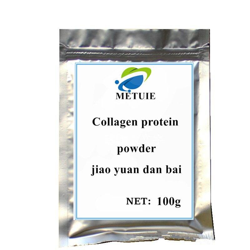 100g 1000g puro marinha hidrolisado extrato de colageno em po para o cabelo pele anti envelhecimento