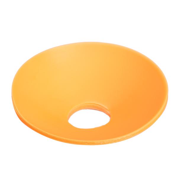 5pcs 18cm Cones Marker Discs For Soccer Football Training