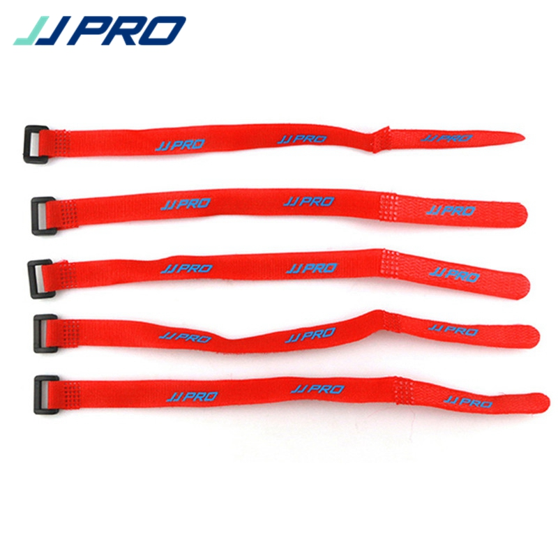 5PCS 24cm JJPRO-R07 Lipo Battery Down Straps Tie Belt For RC Drones With Camera FPV Quadcopter Helicopter DIY Toy Charging Spare