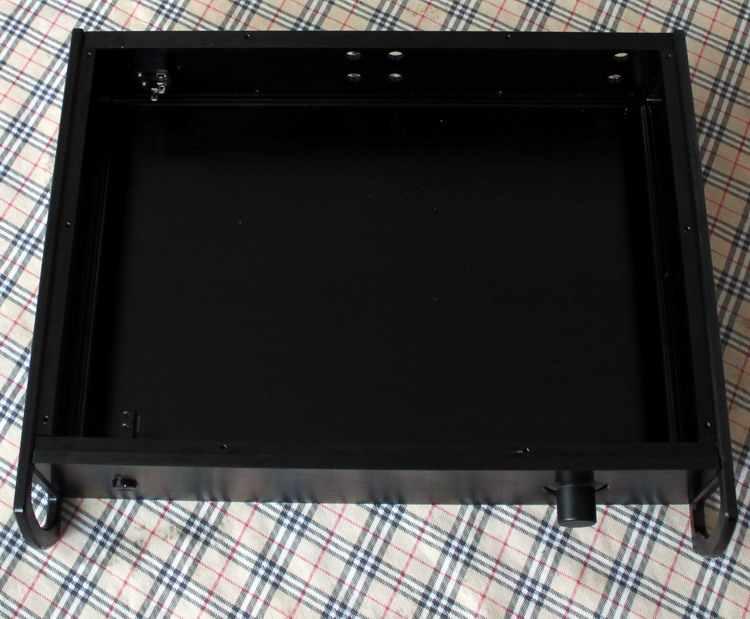 DIY amplifier trường hợp 425*92*310 mét WA32 Đầy Đủ amplifier nhôm chassis/Ống amp/Pre-amplifier/AMP Enclosure/trường hợp/DIY box