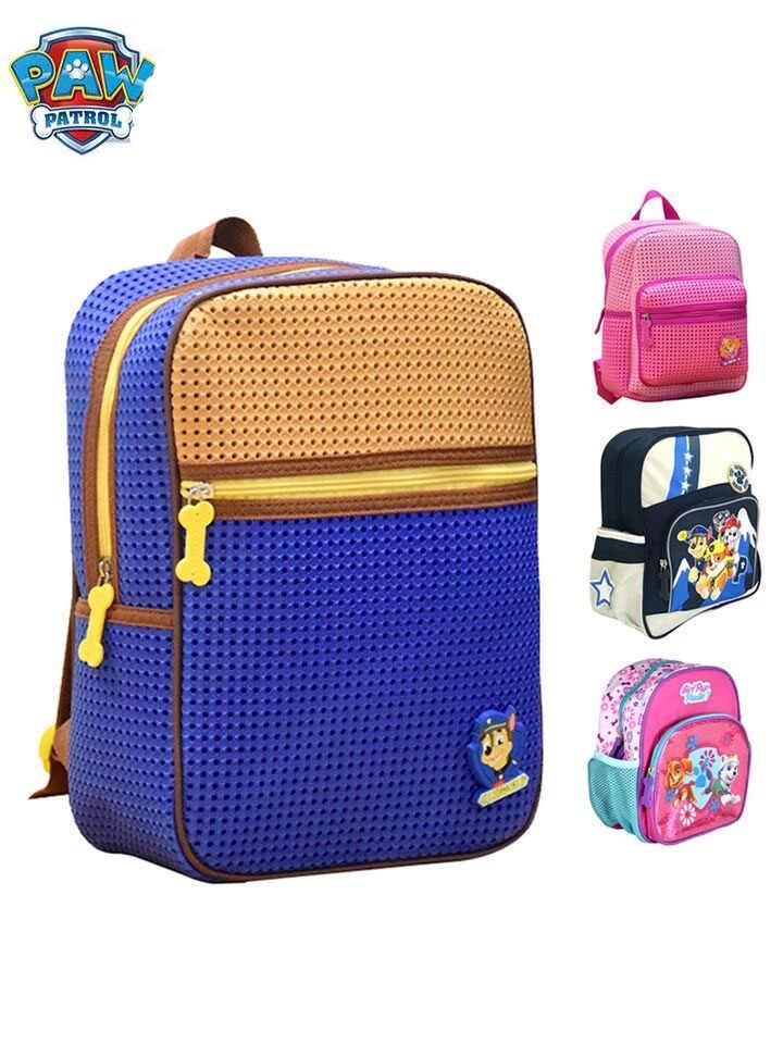 e0f94f7f6e65 Натуральная Щенячий патруль Высокое качество Дети Детская сумка через плечо  школьные ранцы для девочек и мальчиков