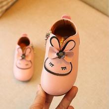 Princess Girls Shoes Candy Color Children Shoes New Design Autumn Cartoon Cute Zipper Baby Girls Boots Kids Single Boots