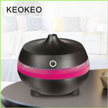 KEOKEO 300ML Portable Air Humidifier USB Aroma Essential Oil Diffuser For Home Aromatherapy 7 Color Change