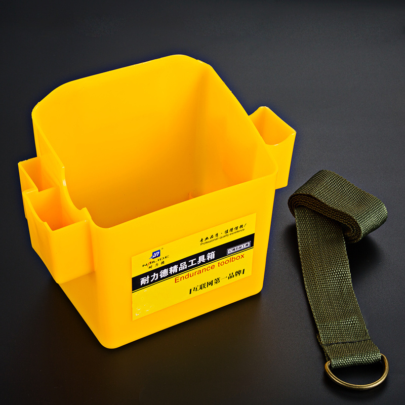 1pcs Portable Woodworking Plastic Nail Box Multifunctional Tool Belt For Screwdriver Pouch Durable Waist Tool Holder