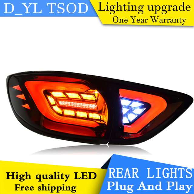 Car Styling Tail Lamp for mazda cx-5 Tail Lights For cx-5 LED Rear Light Tail Lamp DRL+Brake+Park+Signal light