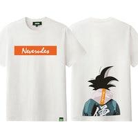 Hot Anime Dragon Ball O neck Short Sleeves T shirt Fashion Shirts Son Goku Tees Casual Tops