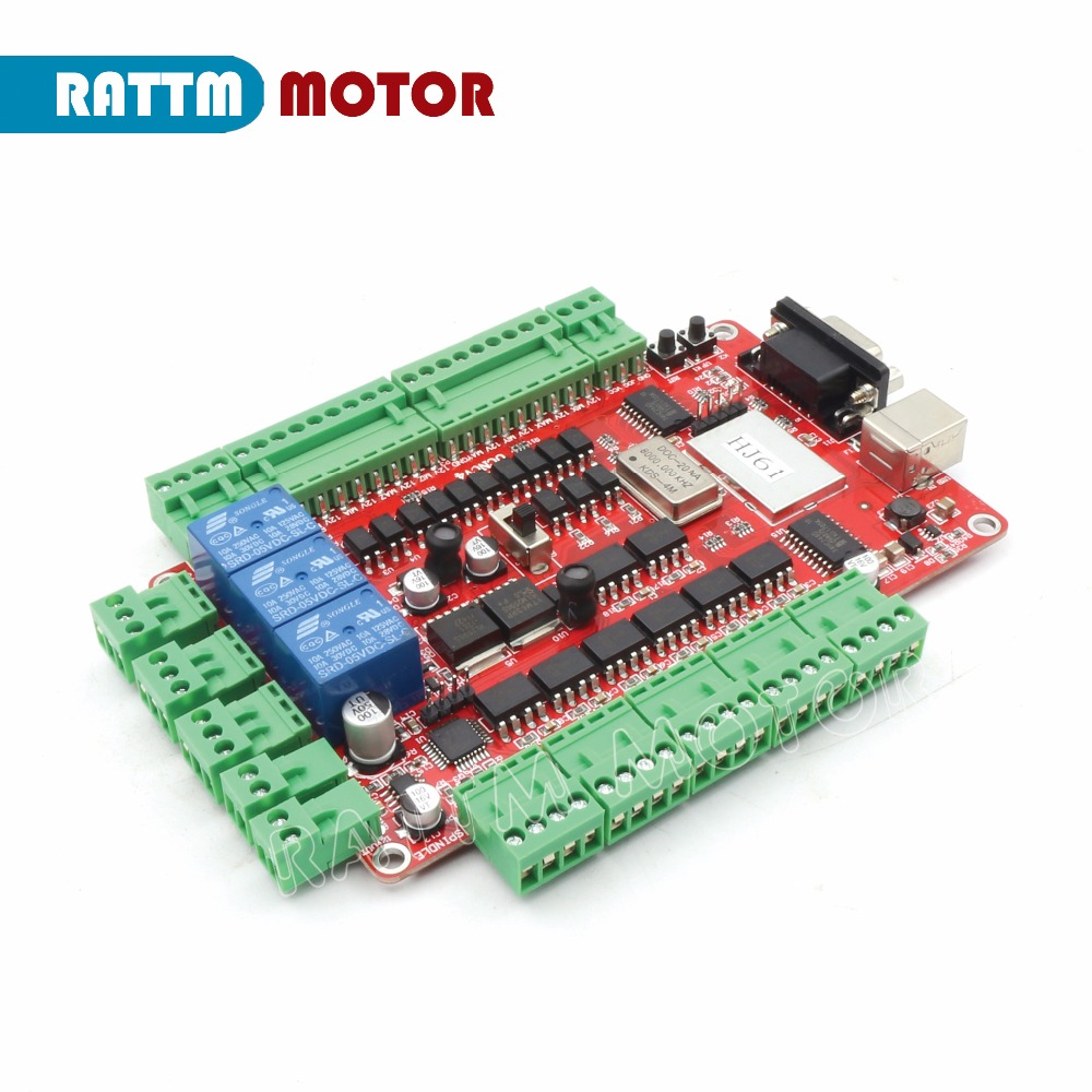 us $32 63 9% off 4 axis usbcnc breakout board interface board without hand controller, cnc controller usb port in motor controller from home  air plasma cutting machine lgk 1 pcb