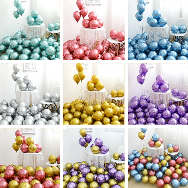 Wholesale-50pcs-Chrome-Gold-Balloon-Flashing-Metal-Balloon-Thick-Pearly-Metal-Wedding-Decoration-Metallic-Balloons-10inch