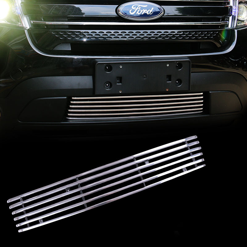 for Ford Explorer front Bumper Grille 2011 2012 2013 2014 2015 year htc explorer б у
