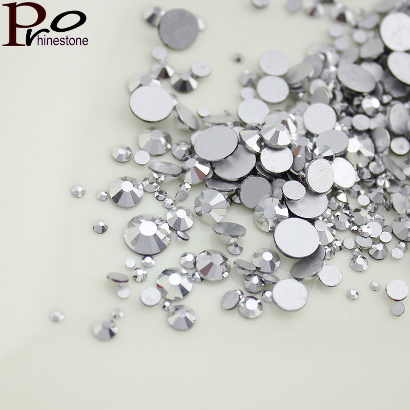Mix Size 1.3mm-6.0mm Nail Rhinestones for to Nails Art Glitter Crystals Decorations DIY Non HotFix Rhinestone Decor strass stone patagonia куртка patagonia 40136 r1 full zip женская голубой