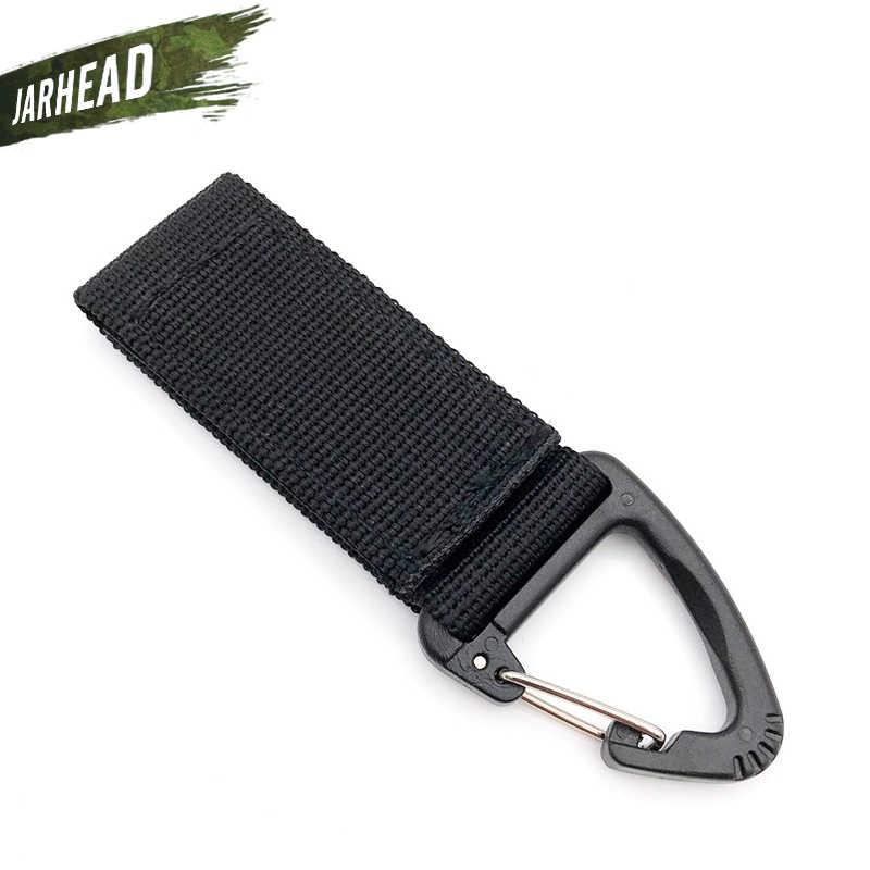 Открытый тактический рюкзак с карабином крючки нейлоновый треугольник брелок зажим походный охотничий карабин аксессуары