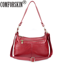 COMFORSKIN New Arrivals Handbags Women Bags Designer Luxurious Cowhide Large Capacity Ladies Traveling Shoulder