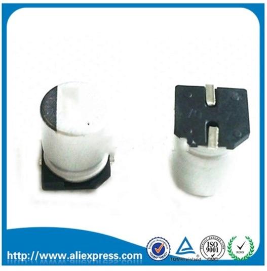 200 шт., алюминиевые электролитические конденсаторы 100 мкФ 16 в 16 В/100 мкФ 16 в 100 мкФ, размер 6,3*5,4 мм