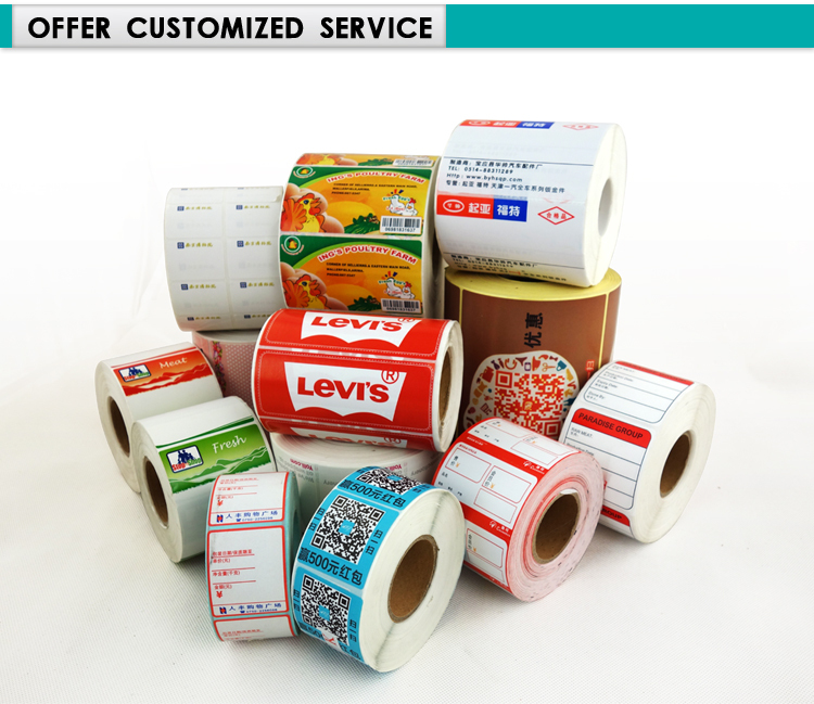 US $8 0 |Thermal Label Sticker 60*30 Strong self Adhesive Direct Thermal  Roll of 800 labels, 60mm (width) x 30mm (Height)-in Stationery Stickers  from