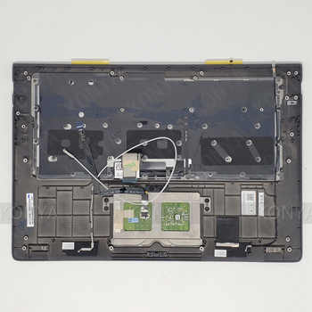 新レノボヨガ 900S-12ISK パームレスト & タッチパッド + キーボード 5CB0K93842 AM104000140 (GR)