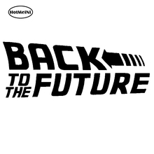 цены HotMeiNi 20x7.6cm Back To The Future 2015 Marty Mcfly Emmett Brown Car Sticker Vinyl Decal Bumper Accessories Black/Sliver
