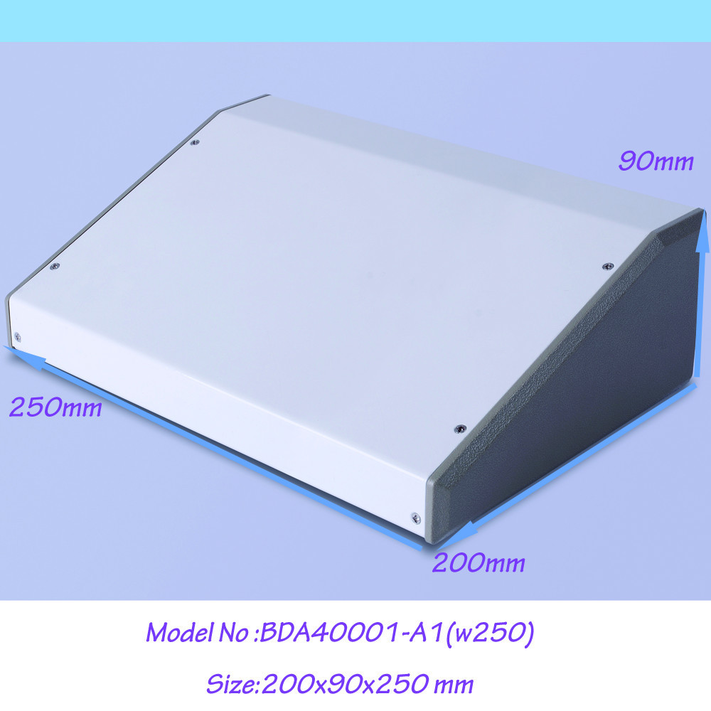 (1pcs)200x90x250mm steel metal enclosure for electronic control box amplifier enclosure distrubition enclosure outlet enclosure 4pcs a lot diy plastic enclosure for electronic handheld led junction box abs housing control box waterproof case 238 134 50mm