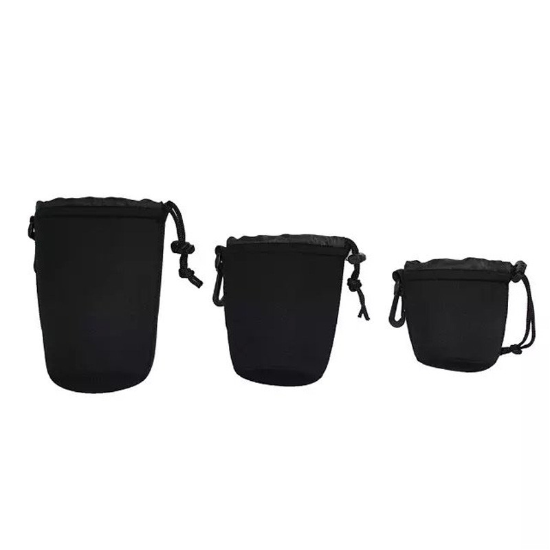 1pcs Neoprene waterproof Camera font b Lens b font Bag Soft Pouch Protective Cover for camera