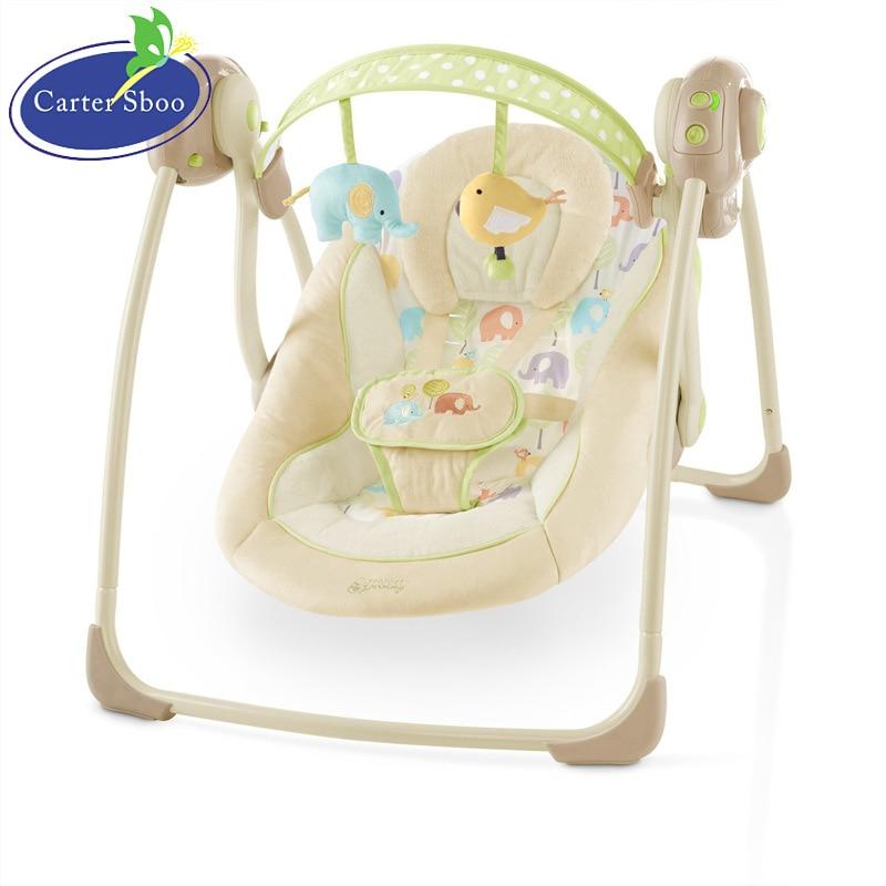Schommelstoel Elektrisch Baby.De Elektrische Trillingen Babyschommeling Stoel Baby Rustgevende