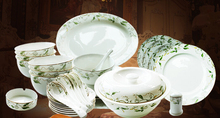 kupper bone china tableware  rustic dinnerware set 48 pieces a stes