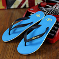 2016 New Arrival Men Casual Flip Flops Solid Flat Summer Fashion Slippers Hot High Quality Shoes RN101860-Free Shipping