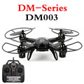 DM003 en Tiempo Real Mini Drone 2.4G 4CH 6 Ejes Con WIFI 0.3MP HD Cámara Headless Modo Rollo 3D RC Quadcopter Juguetes RTF Modo 2