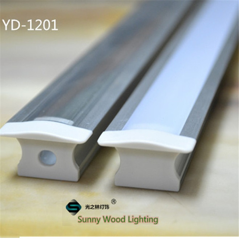 5-30pcs/lot  40inch 1m led aluminium profile,led channel ,high depth embedded cabinet light housing  for 12mm PCB board 5 30pcs lot 40 inch 1m 45 degree corner aluminum profile for 5050 led strip milky transparent cover for 12mm pcb with fittings