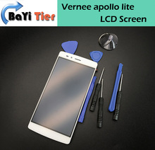 100% replaced For Vernee Apollo Lite LCD Display+Touch Screen Digitizer Assembly Replacement Screen For Vernee apollo lite 5.5
