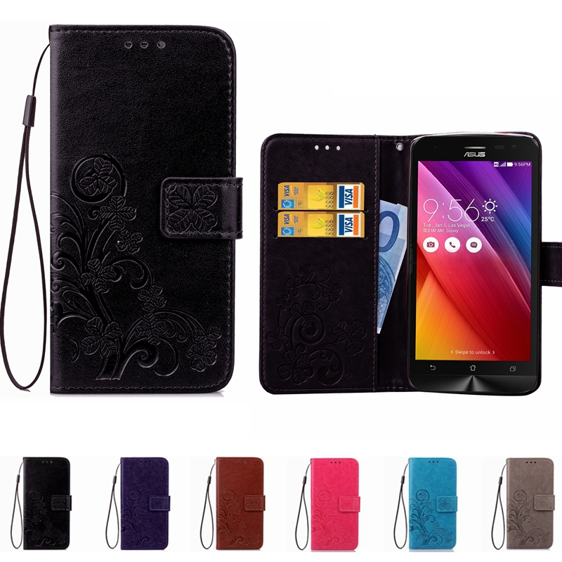 Leather Phone Case Wallet Cover For Asus Zenfone 2 3 Max ZC550KL ZC553KL ZC520TL 3 Laser ZC551KL ZE552KL ZE520KL Flip Stand Book