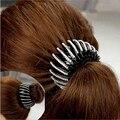 Nueva Llegada Hermoso Cristal Rhinestone Ponytail Ornamentos Del Pelo Del Brote Mujeres Accesorios Pelo de La Manera Hairclaws Pelo Broche de Horquilla