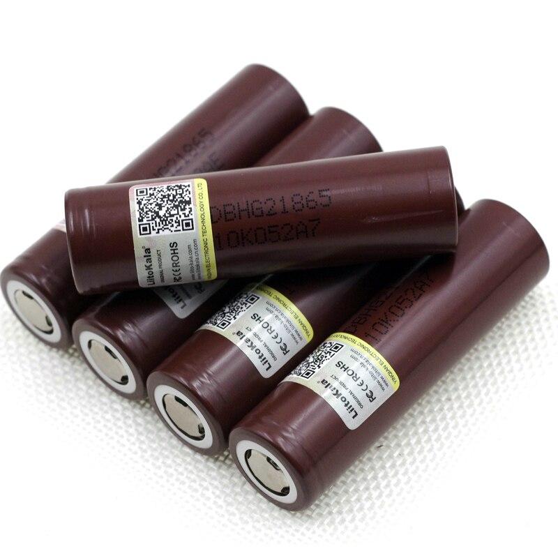 Liitokala 100% novo hg2 18650 3000 mah bateria recarregável 18650hg2 3.6 v descarga 20a max 35a baterias de energia