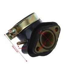Впускной коллектор Труба Мопед Скутер ATV картинг часть двигателя для GY6 125cc 150cc