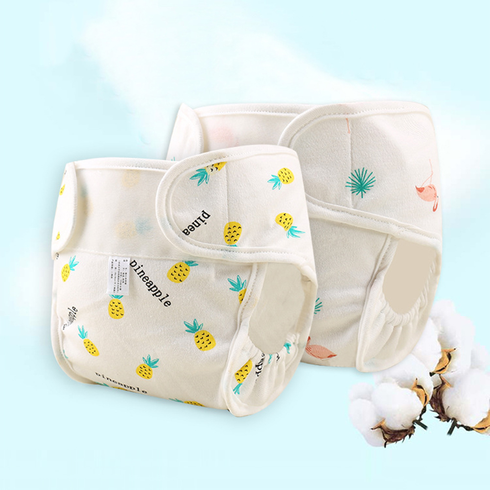 1PC Reusable Waterproof Baby Cloth Diaper Cotton Washable Diaper Pocket Leakproof Winter Newborn Diaper Breathable Drop Shipping