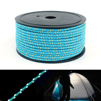 50m Outdoor Reflective Cord 5mm Bold Tent Guy line Rope Guy for Camping Tent Nail Rope Sun Shelter Shade Accessories
