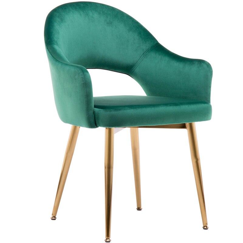 Style nordique maquillage chaise chambre chaise clou chaise dossier luxe salle à manger chaise moderne minimaliste maison tabouret