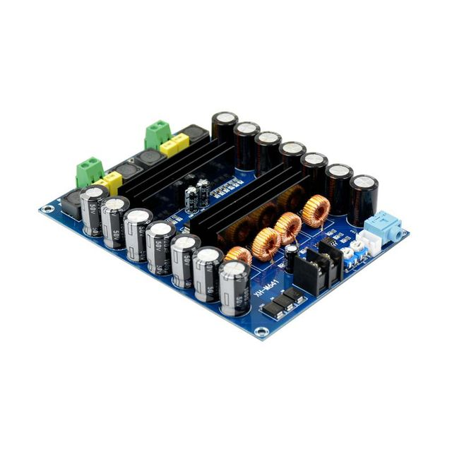 Best Offers TPA3116D2 DC12V 24V 150W x2 Audio Digital Amplifier Board High Power 2 channels car amplifiers boards With Boost