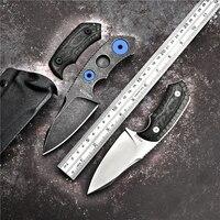 2018 PSRK Sharp Handmade Tactical pocket knife YTL122 blade Camp chopping axe outdoor survival hunting knife EDC rescue tool
