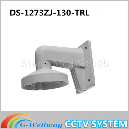 DS-1273ZJ-130-TRL CCTV Wall Mount Aluminum Alloy For Network IP Camera DS-2CD2332-I DS-2CD3332-I CCTV Bracket cctv bracket ds 1212zj indoor outdoor wall mount bracket suit for bullet camera s bracket ip camera bracket