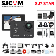 Original SJCAM SJ7 Star Action Camera 4K WiFi Sports DV Ultra HD Ambarella A12S75 2.0″ Touch Screen 30m Waterproof Remote SJ Cam