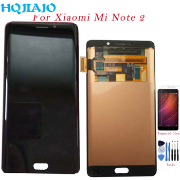 Original For Xiaomi Mi Note 2 LCD Display Screen Touch Digitizer Assembly Frame For Xiaomi mi note2 LCD Display Repalcement