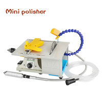 Mini 850W Multifunction  Table Saw Stone Polisher Jade Engraving Machine Grinding machine Table Saws  Cutting machine for free