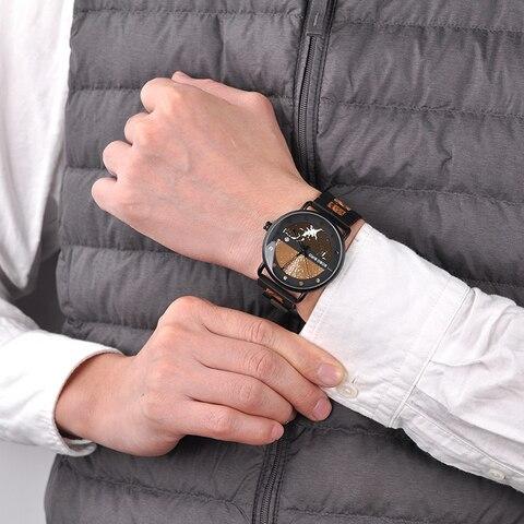Saat erkek Wooden Watches Men Wristwatch Quartz Clock BOBO BIRD Show date Gift in Wood Box in Wood Box Customize Logo Lahore